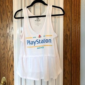 Sony PlayStation Peplum Graphic Tank